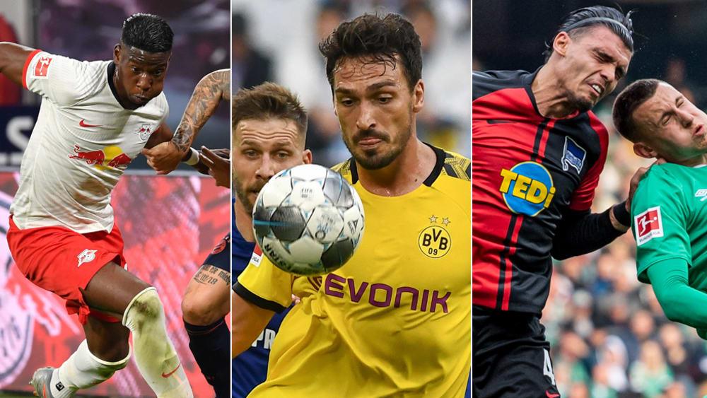 Von 57 bis 75 Prozent: Die besten Zweikämpfer der Bundesligisten