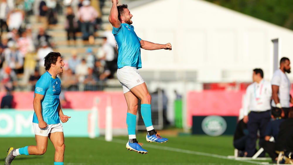 Erste Sensation: Uruguay besiegt Fidschi - Rugby-WM in Japan