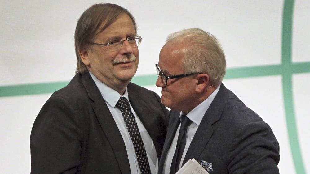 Rainer Koch und Fritz Keller