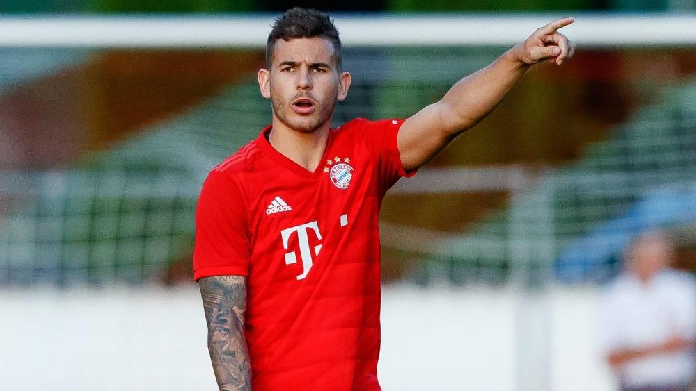 Gab sein Debüt für die Bayern: Lucas Hernandez.