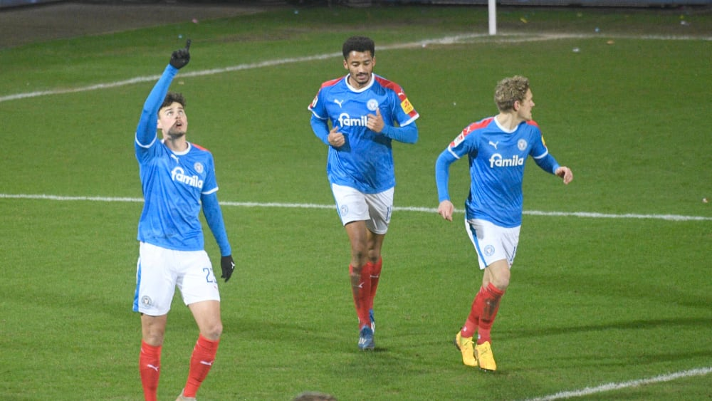 Holstein Kiel gewinnt durch Joker-Tor von Serra