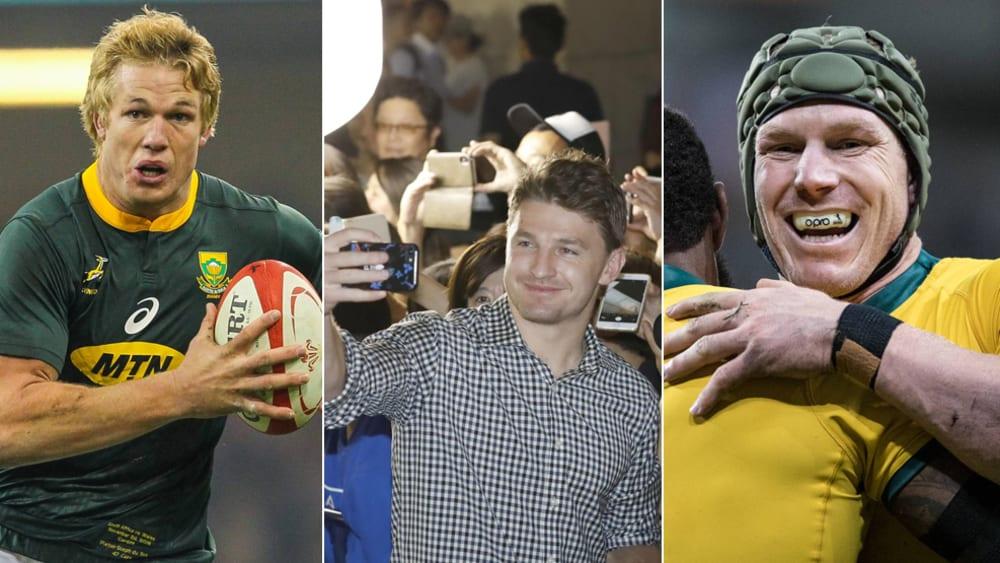 Rugby-WM: 11 Stars, die man im Auge behalten sollte