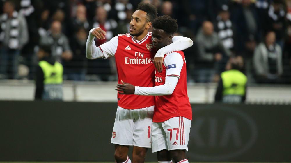 Saka-Show in Frankfurt - Dudelanges Wahnsinn: 2:0, 2:3, 4:3! - Europa League, Sevilla müht sich - PSV auf Kurs
