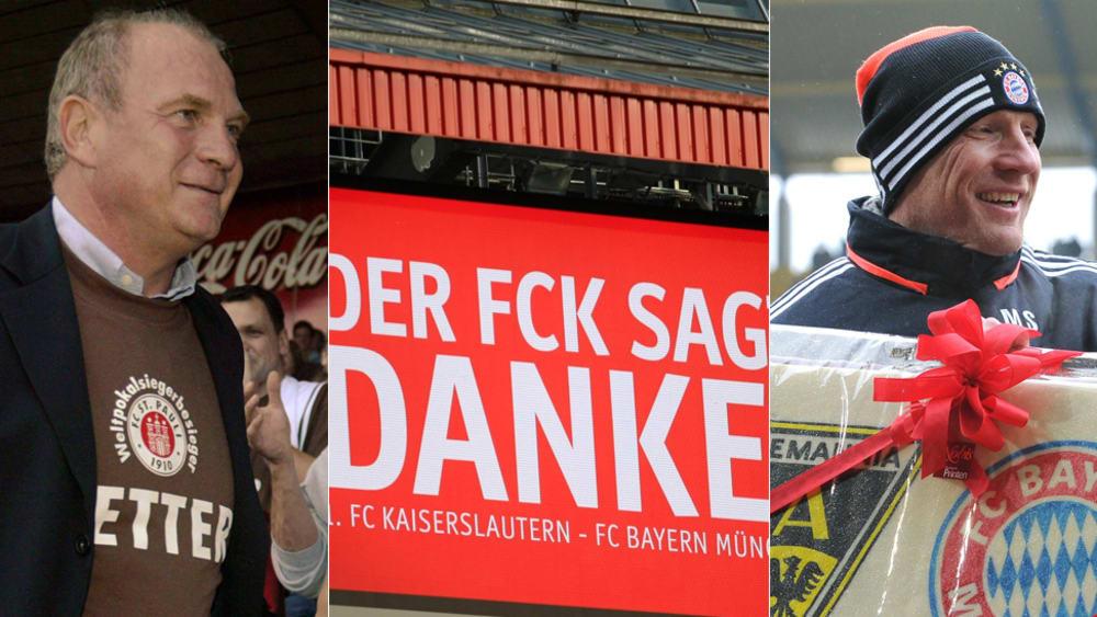 Der FC Bayern als Helfer in der Not