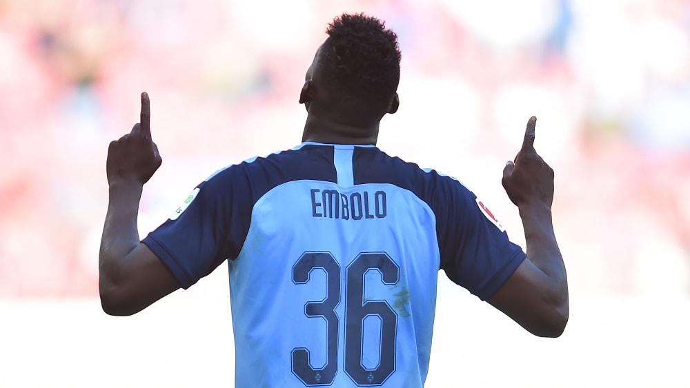 Embolo auf dem Weg zur Bestform