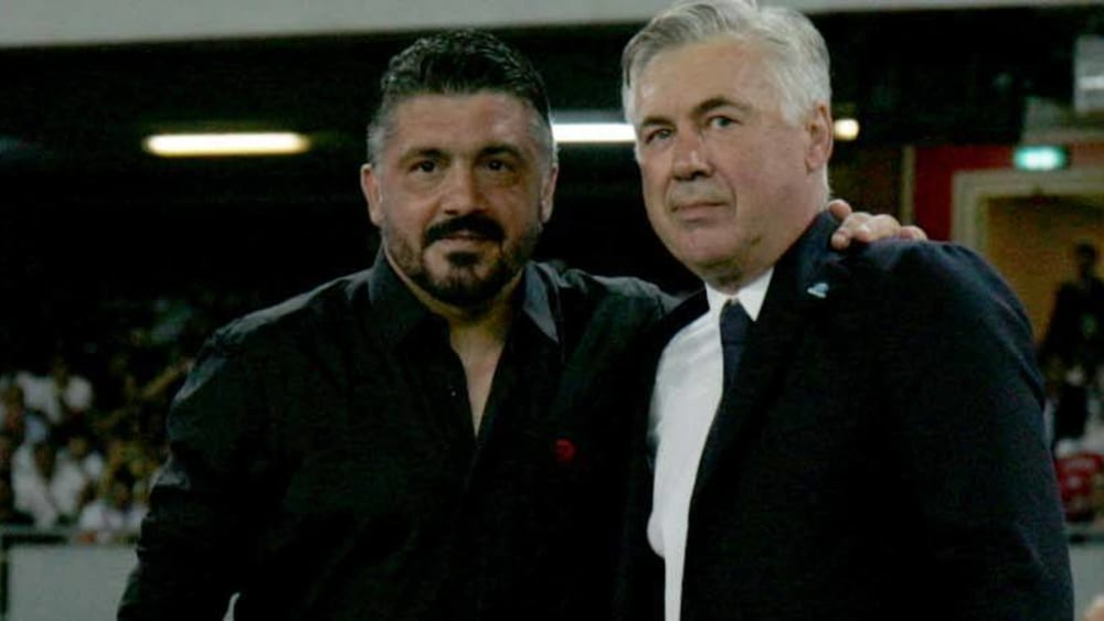 Gennaro Gattuso folgt in Neapel wohl auf Carlo Ancelotti.