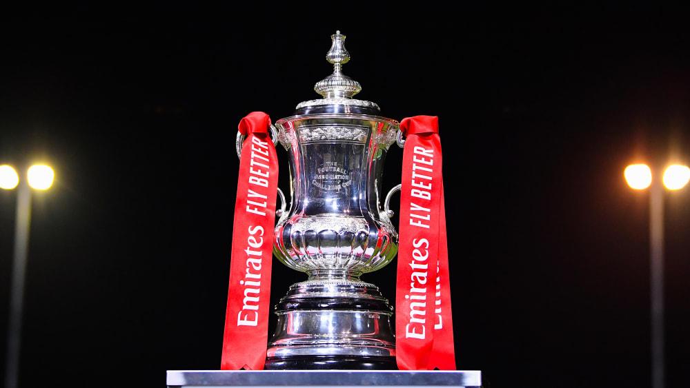 FA-Cup-Trophäe
