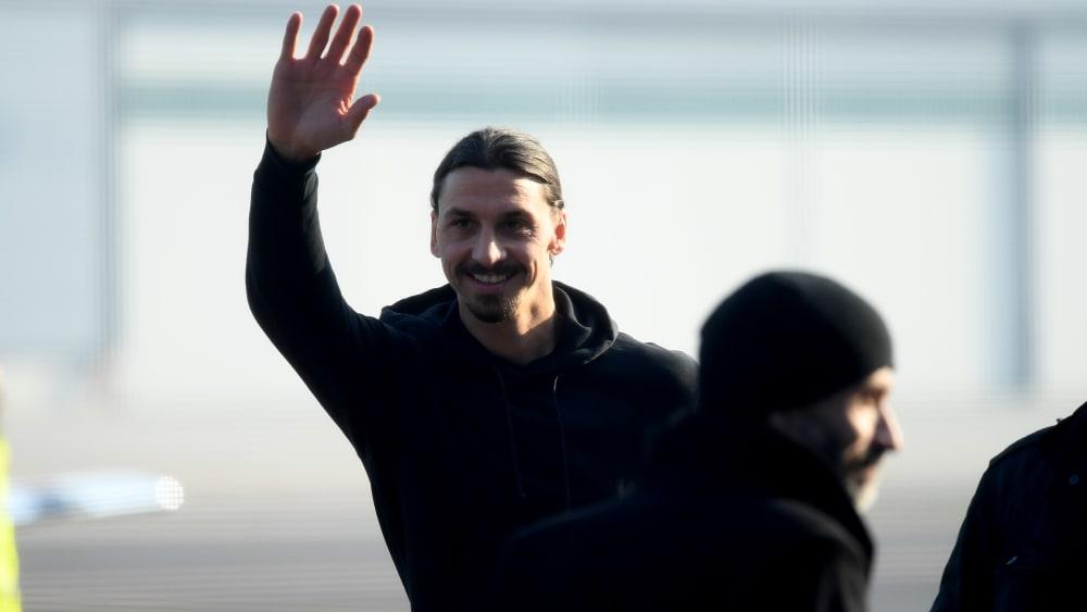 Zlatan Ibrahimovic ist zur AC Mailand zurückgekehrt.