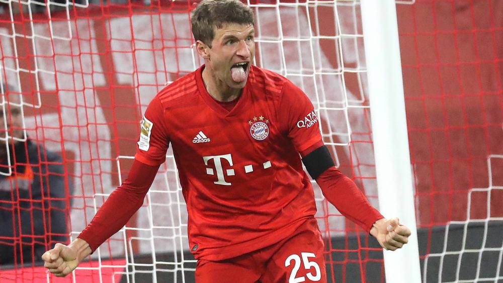 Thomas Müller hat für den FC Bayern München getroffen.