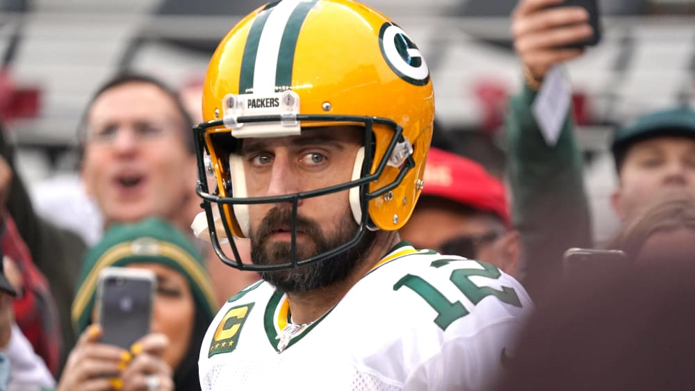 Aaron Rodgers ist Quarterback der Green Bay Packers.