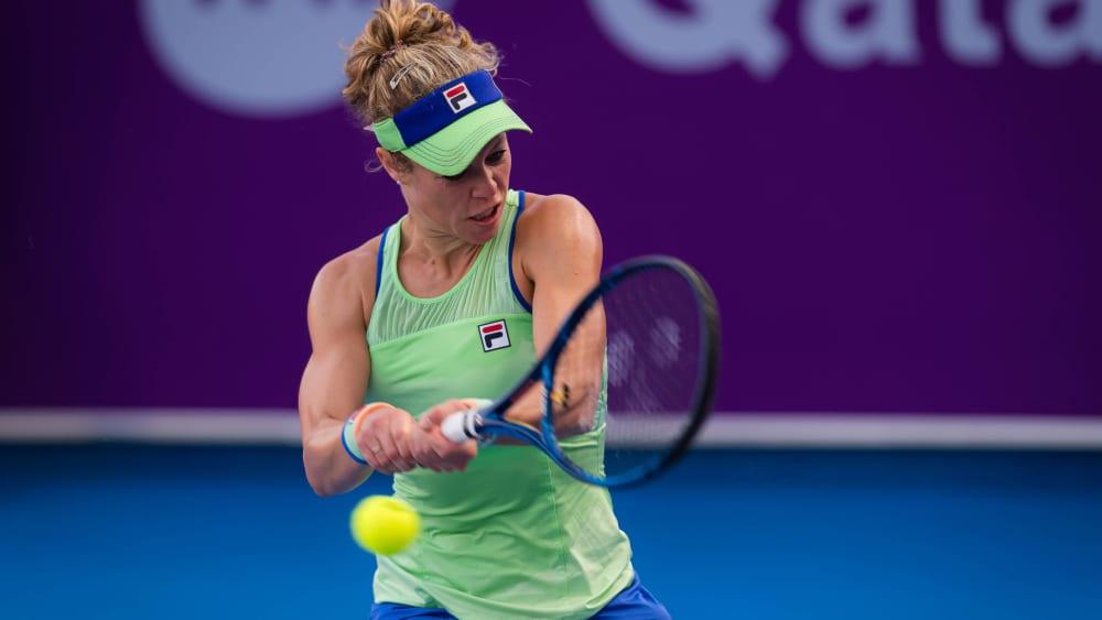 Laura Siegmund ist deutsche Profi-Tennisspielerin.