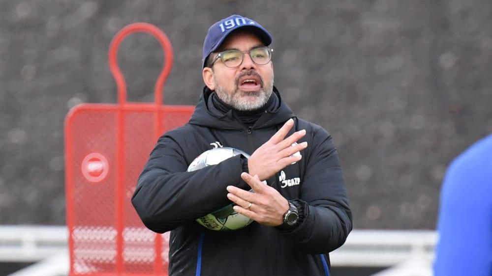 Warnt vor Union: Schalkes Trainer David Wagner.