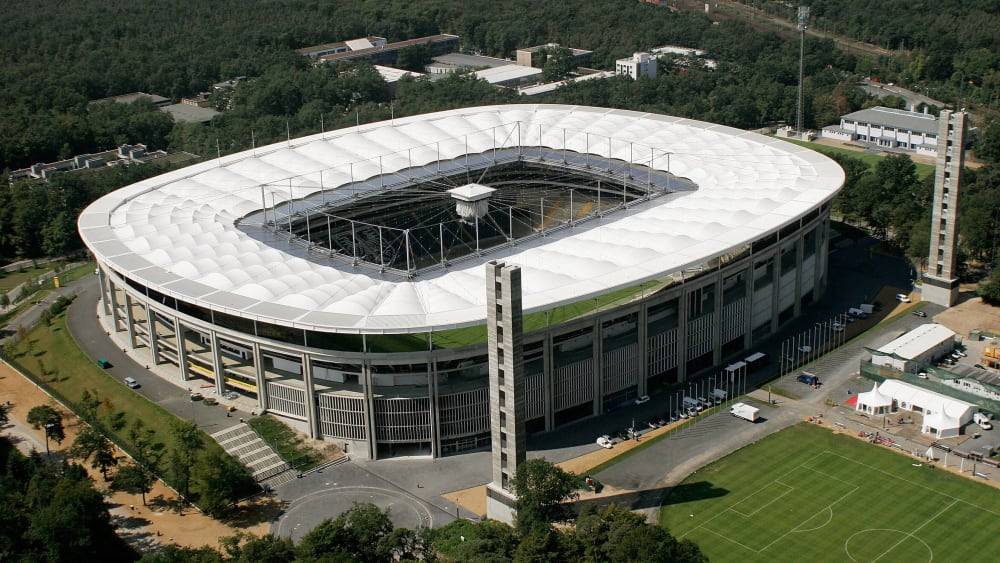 Frankfurt Stadion Ausbau