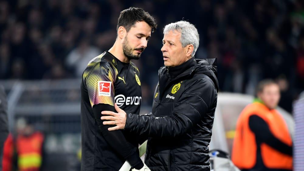 Entwarnung bei Bürki - Einsatz in Mailand möglich - Dortmunder Keeper fällt vielleicht gar nicht aus