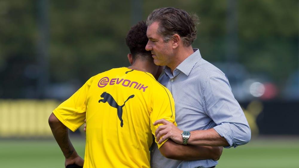 """Zorc: """"Es war klar, dass Sancho mal eine Pause braucht"""" - Überschaubares Pensum für viele BVB-Nationalspieler"""