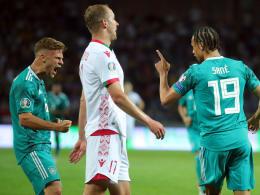 Ohne Löw: DFB-Team holt Pflichtsieg in Weißrussland