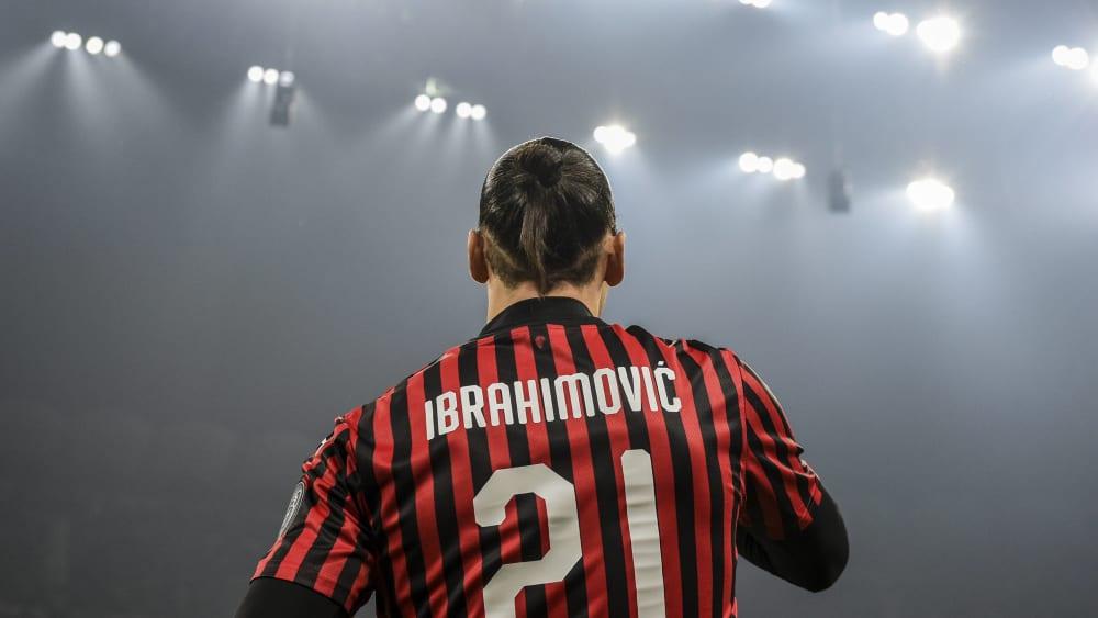 Zlatan Ibrahimovic ist seit 2020 wieder Spieler der AC Mailand.