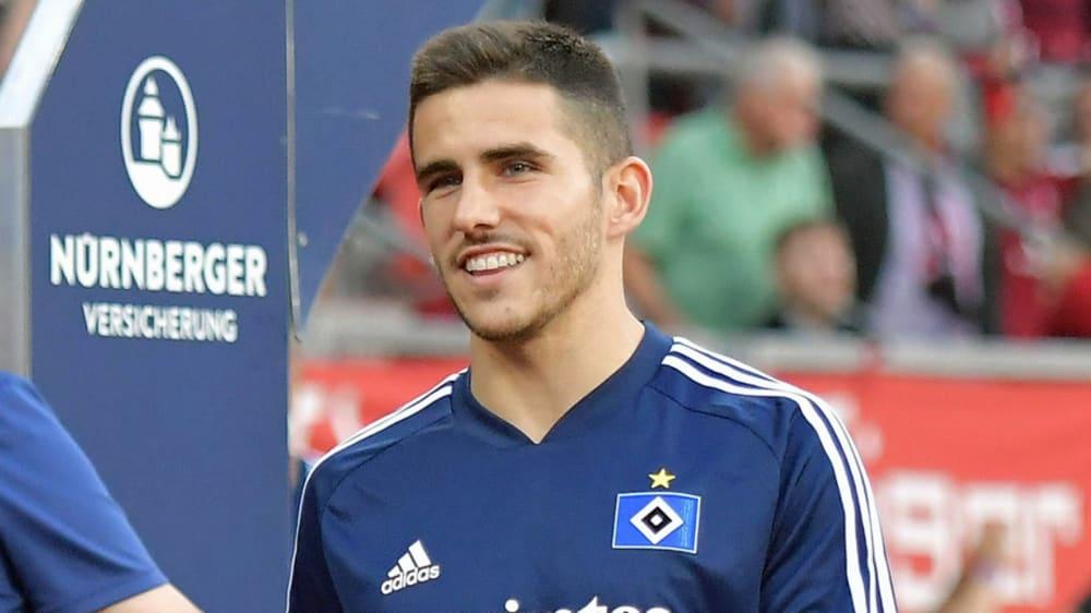 Glücklich nach dem Comeback: Hamburgs Jairo am Montagabend in Nürnberg.