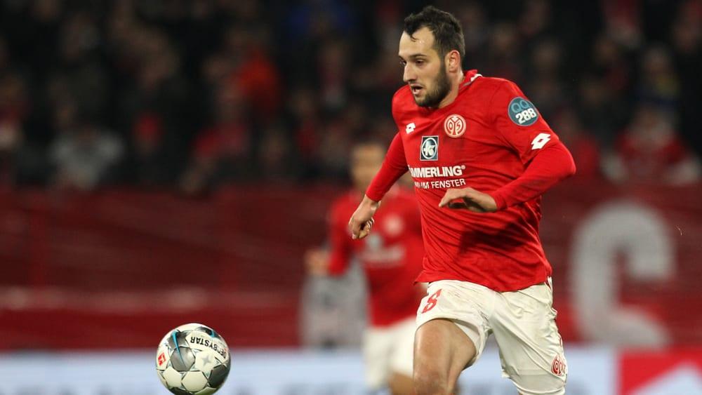 Levin Öztunali hat beim 1. FSV Mainz 05 wieder Fahrt aufgenommen.