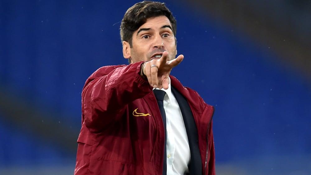 Paulo Fonseca ist seit dieser Saison Trainer der AS Roma.