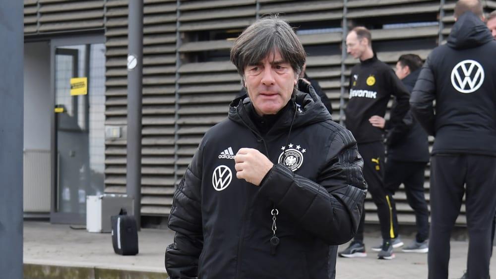Bundestrainer Joachim Löw hat seinen letzten Kader 2019 benannt