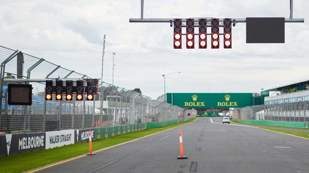 In der Formel 1 stehen die Ampeln auf Rot.