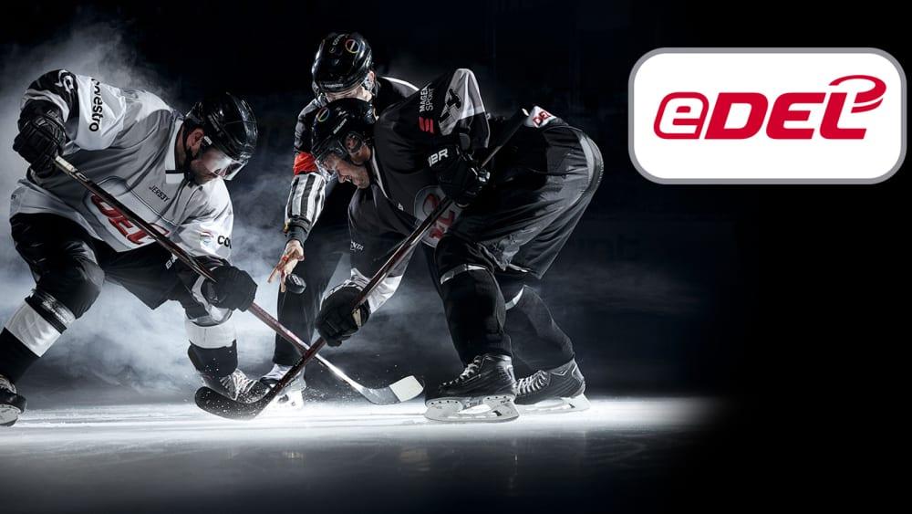 Virtueller Kampf um den Puck: In der eDEL wird bald der beste eSportler im Eishockey ermittelt.