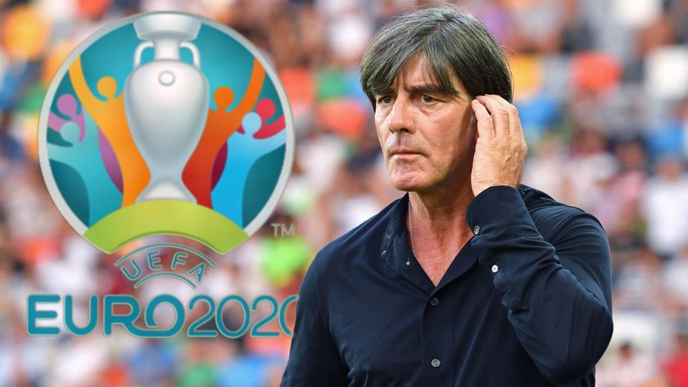 Bekommt es bei der EURO mit Schwergewichten zu tun: Bundestrainer Joachim Löw.
