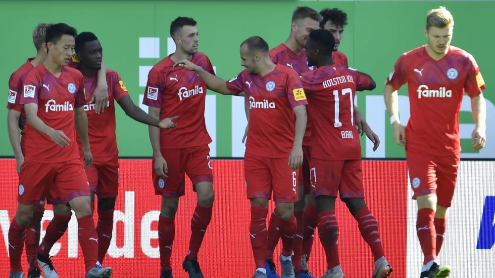 Starker Auftritt: Die Kieler nehmen drei Punkte aus Fürth mit.