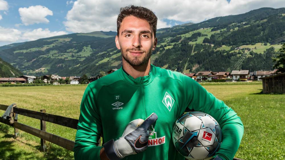 Werders aktueller Ersatzkeeper Stefanos Kapino
