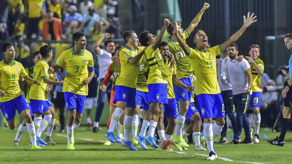 Brasilien jubelt über den Finaleinzug