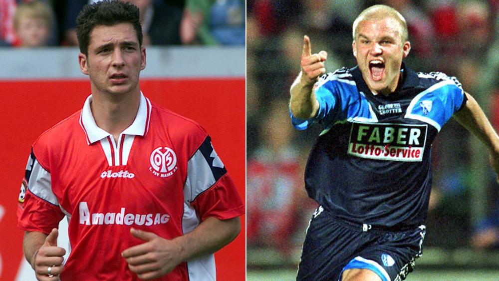 Ungleiche Erinnerungen: Während Sandro Schwarz (li.) 2002 den Aufstieg verpasste, durfte Rouven Schröder mit Bochum ins Oberhaus.