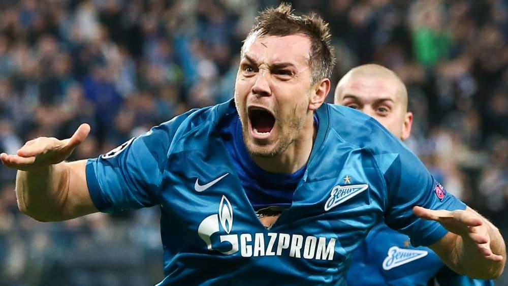 Artyom Dzyuba ist Spieler von Zenit St. Petersburg.