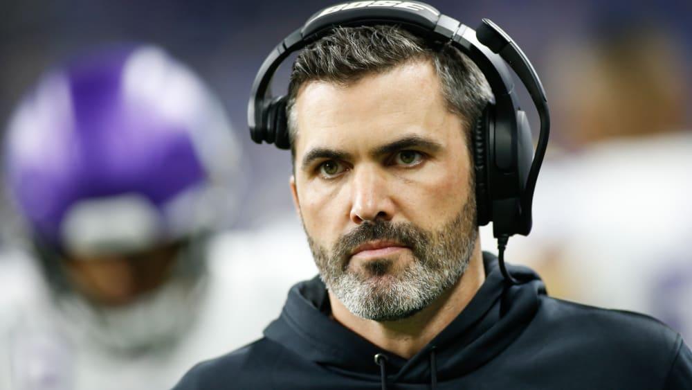 Kevin Stefanski heuert als Head Coach bei den Minnesota Vikings an.