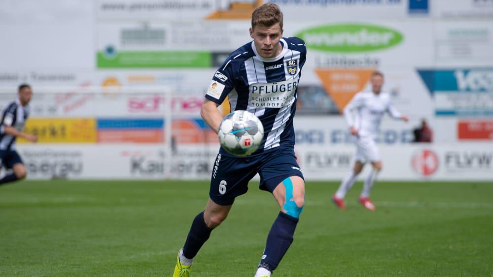 Bleibt der Regionalliga erhalten: Patrick Schikowski.