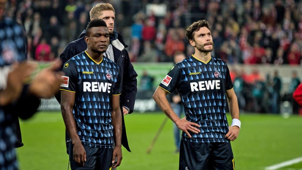 Jonas Hector haderte nach dem 0:2 in Düsseldorf