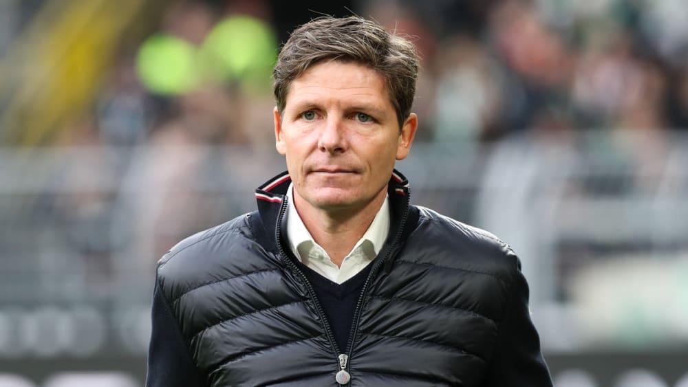 VfL Wolfsburg Trainer Oliver Glasner nach Niederlage gegen Gent