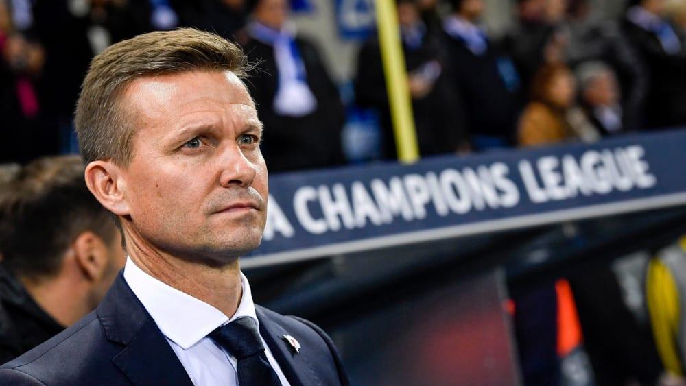 Salzburgs Trainer Jesse Marsch nach Sieg gegen Genk