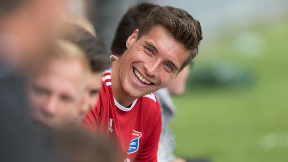 Thomas Hagn lacht