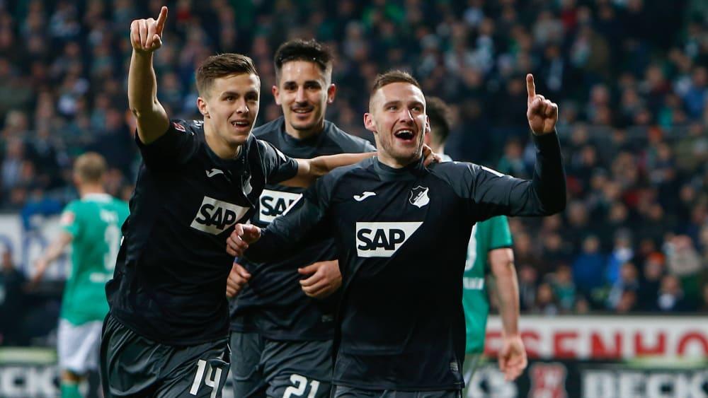 Hoffenheim gewinnt gegen Werder Bremen