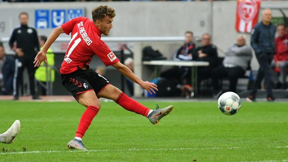 Hat keine Probleme mehr: Freiburgs Nationalspieler Luca Waldschmidt.
