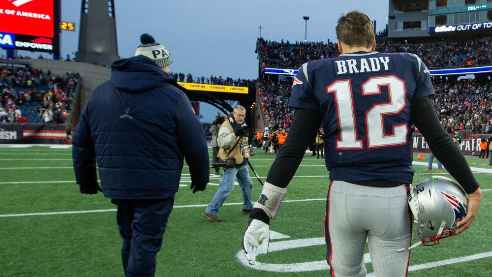 Tom Brady ist Quarterback bei den New England Patriots.