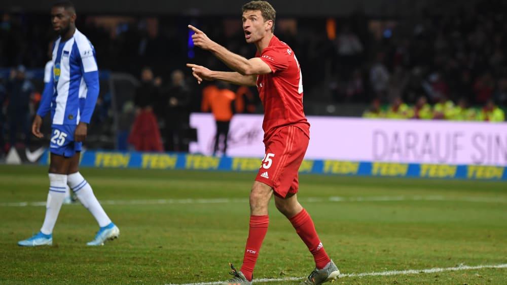 Nähert sich seiner Topform in großen Schritten an: Bayern-Urgestein Thomas Müller.