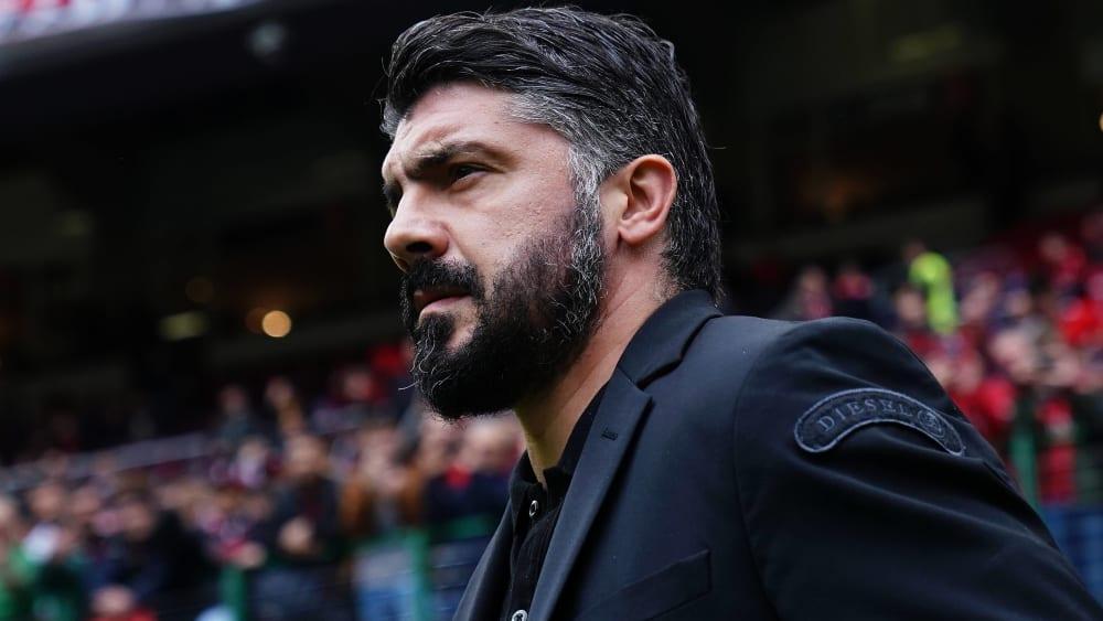 Gennaro Gattuso ist neuer Trainer bei der SSC Neapel.
