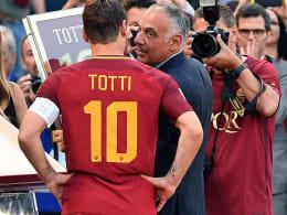 Der Gegenangriff der Roma-Bosse: Totti im Reich der Fantasie?