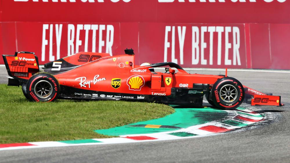 Steckt in der Krise: Ferrari-Pilot Sebastian Vettel.