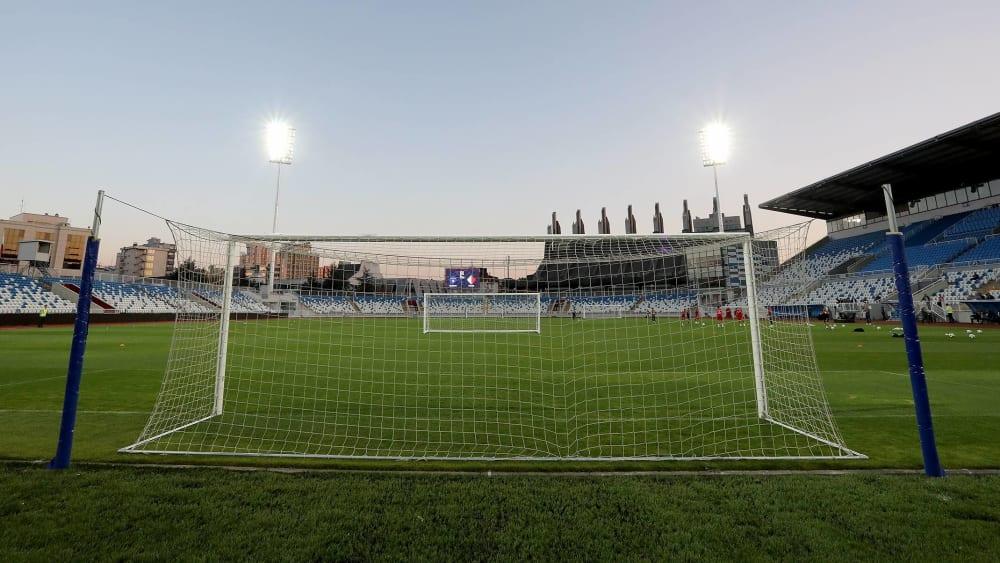 Das Fadil-Vokrri-Stadion in Pristina