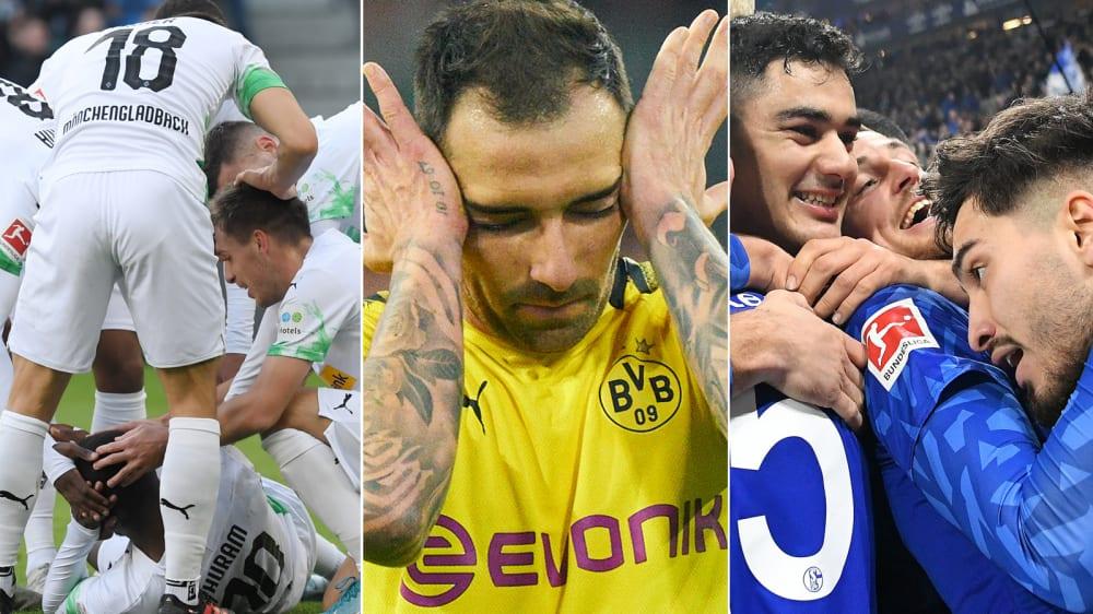 Die Liga im Herbst-Vergleich: Gladbach nur knapp besser als 2018 - So standen die Erstligisten vor einem Jahr nach elf Spieltagen da