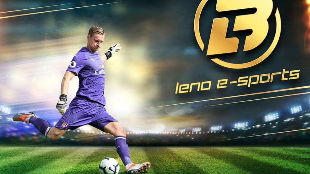 So präsentiert Bernd Leno sein neues eSport-Team.