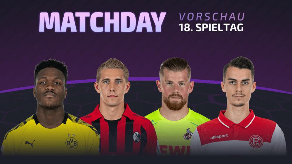 Es ist Matchday! Das sind die Geheimtipps für den 18. Spieltag - Tipps für den neuen Live-Bundesligamanager
